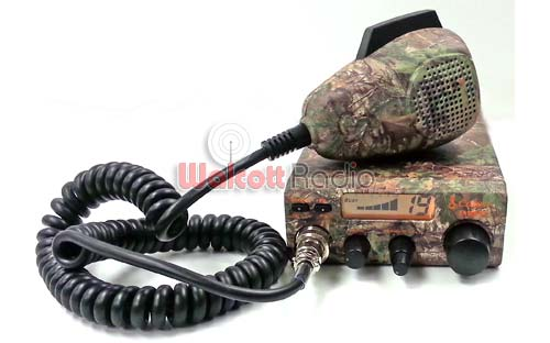 Cobra 19 DX IV CAMO 40 Channel CB radio with Camouflage Case