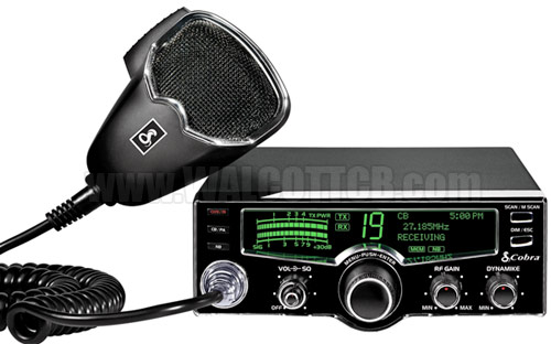 Cobra 25 LX LCD CB Radio with Multi-Color Display