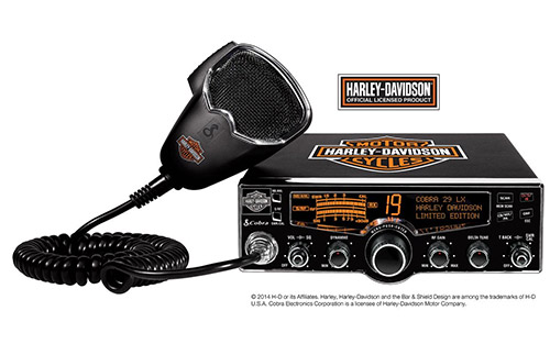 Cobra 29 LX HD LE Harley Davidson Edition CB Radio with LCD Display and NOAA Weather Channels