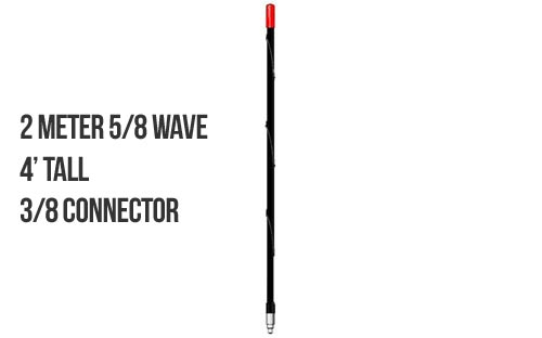Firestik 2M4B 2 Meter 5/8 Wave Antenna