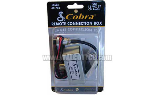 cobra 75 wx st ac701 accessory junction box