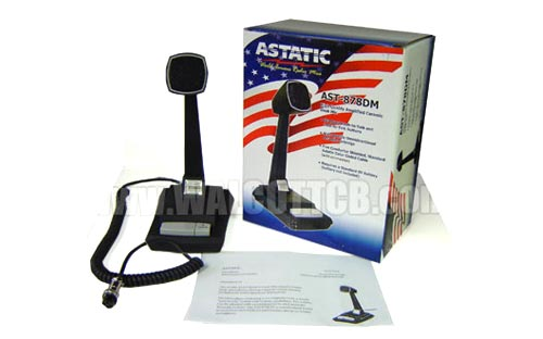 cb radio microphones astatic  road king  telex  galaxy   more