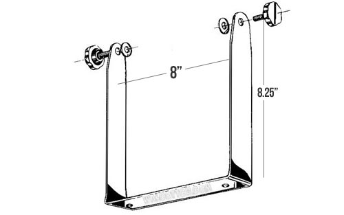 BB148 - Stainless Steel Long Bracket