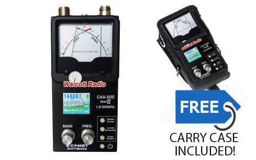 Comet CAA-500 Mark II Commercial Grade SWR/Impedance Analyzer