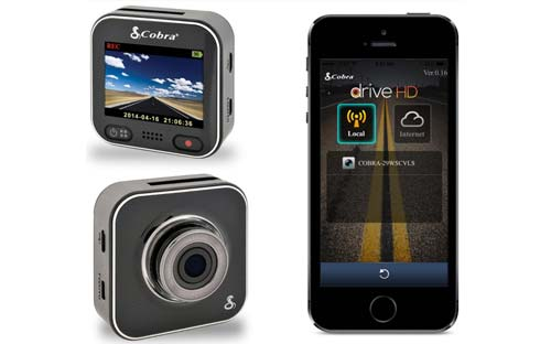 Cobra CDR-900 Drive HD Dash Cam with WiFi in 1296P Super HD