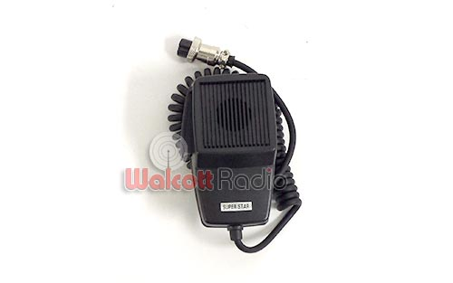 Stock replacement microphone for almost any CB or 10 meter radio