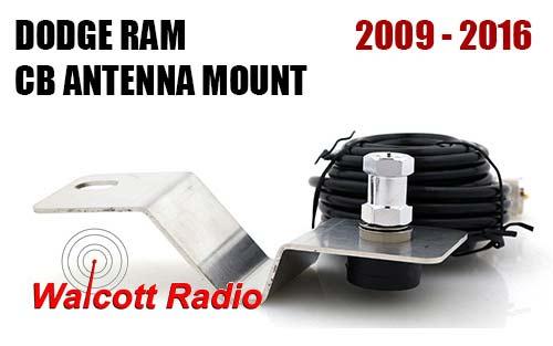 Dodge Ram 2009 2016 Hood Fender Antenna Mount Dodge3