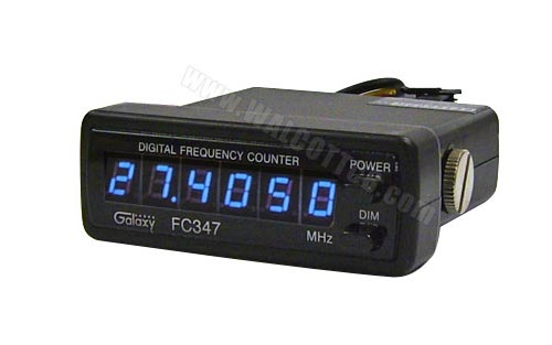 Cb Frequency Counter : Galaxy fc blue digit frequency counter