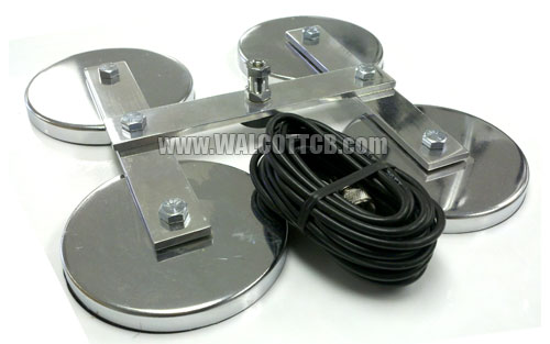 Quad Magnet Antenna Mount for CB Antennas