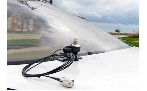 Diamond K400c Uhf Trunk Lip Antenna Mount W Coax