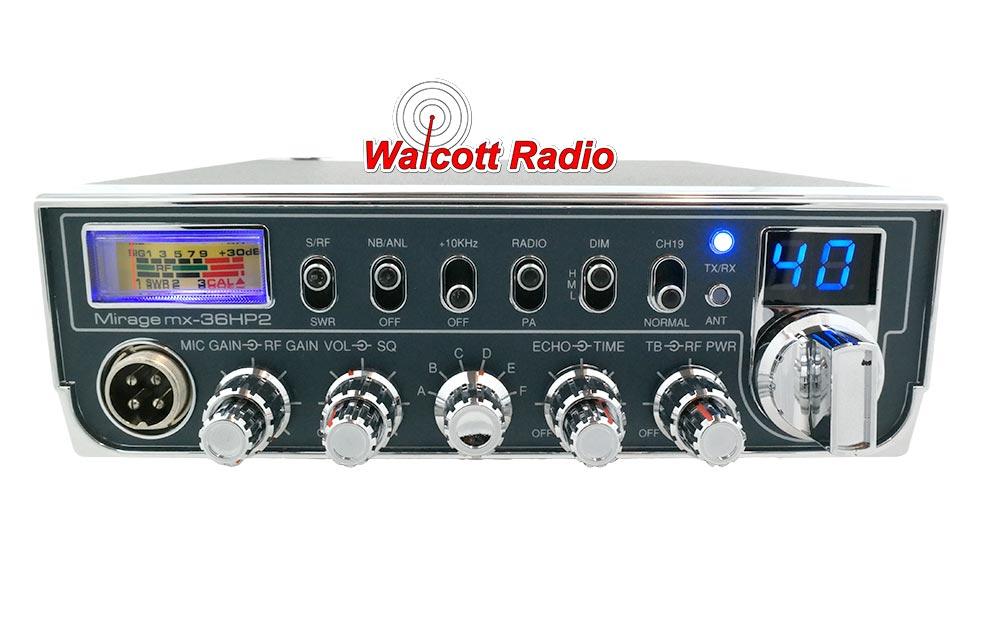 MX36HP2 Mirage CB Radio | Mirage 10 Meter Radio