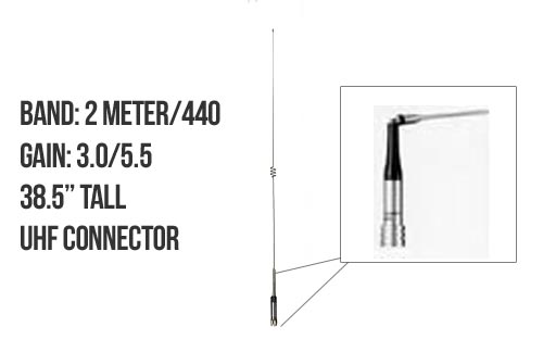 Diamond NR770HA Dualband Mobile Antenna