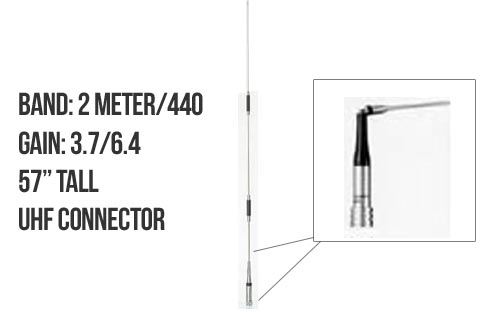 Diamond NR7900A Dualband Mobile Antenna