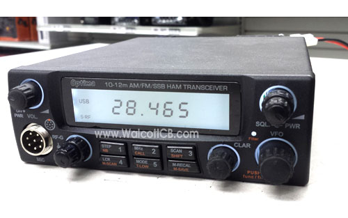 Optima MK2 10-12 Meter All Mode Transceiver