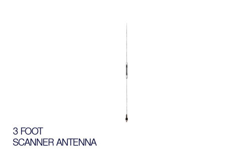 PC360 Tri-Band Scanner Antenna