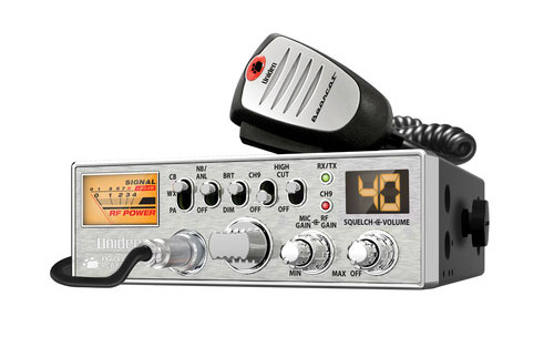 Uniden PC687 40 Channel Compact CB Radio with NOAA Weather