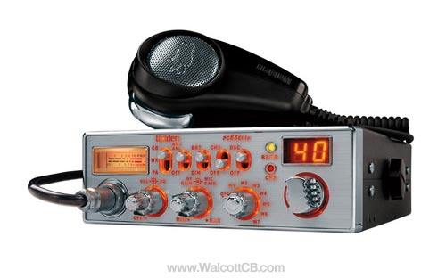 Uniden PC68ELITE CB Radio W. Weather and Illumination