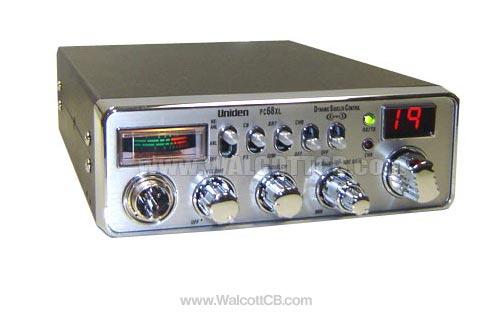 uniden pc68xl classic cb radio rh walcottradio com Uniden CB Radio Mic Replacement Bearcat Uniden CB Radios