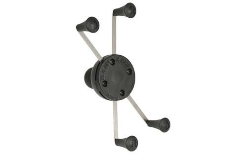 "RAM MOUNT RAM-HOL-UN10BU Universal X-Grip IV Large Phone/Phablet Holder with 1"" Ball"