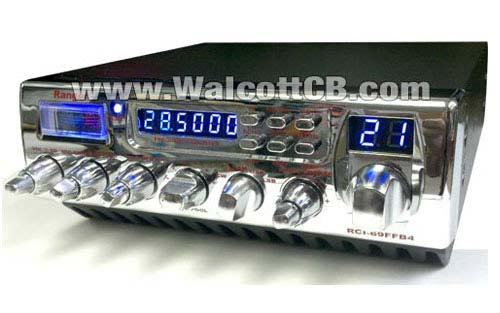 Ranger RCI69FFB4 400 + Watts Modulation SSB 10 Meter Radio - No Warranty  Included, AS-IS