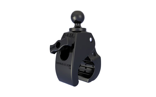"RAM Small Tough-Claw Mount with 1"" Diameter Rubber Ball RAP-B-400U"