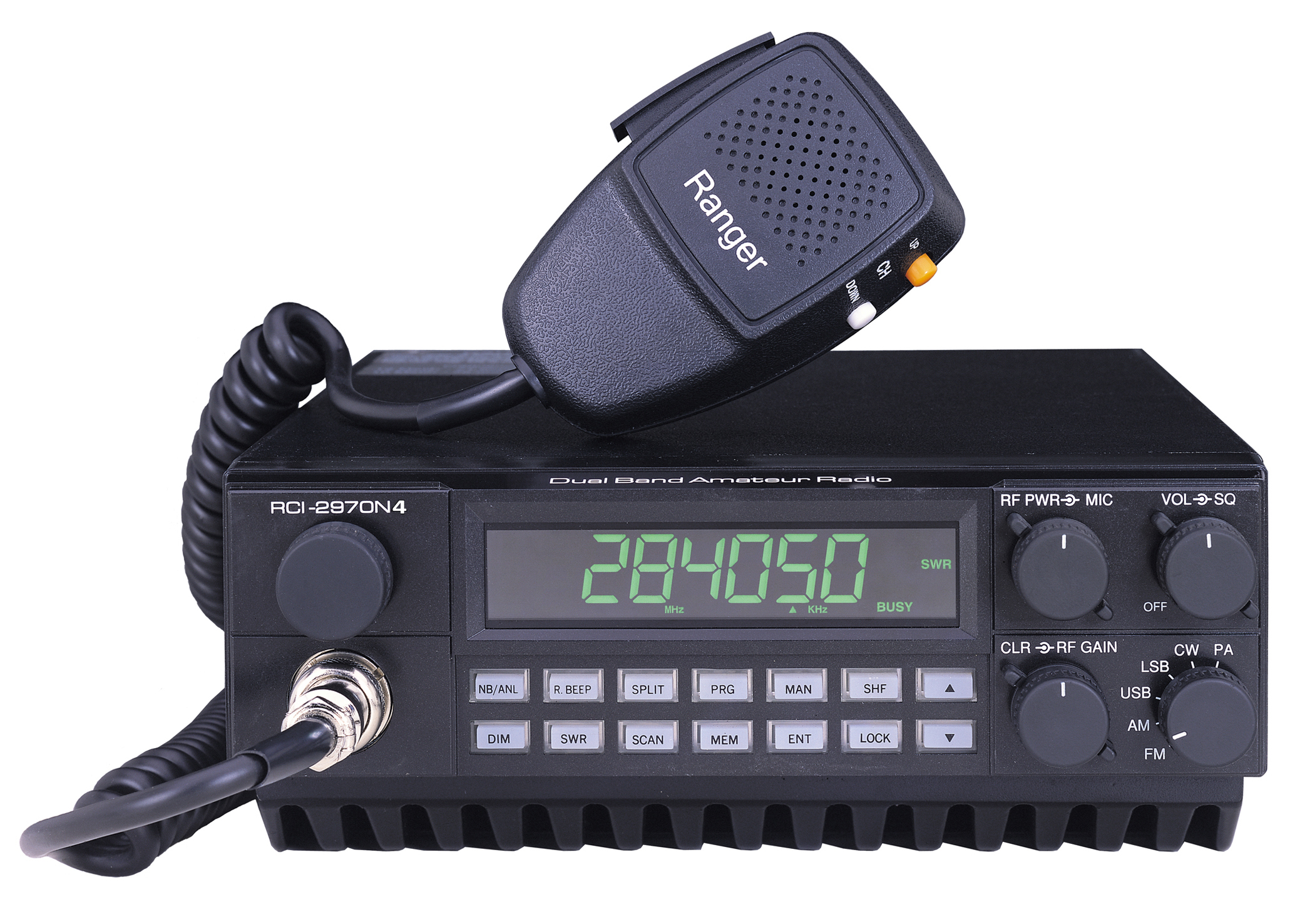 <b>Poor Band Conditions? This High Power Radio Might Help!</b>  The 10 meter band opens occasionally and with this radio, work the weak stations.