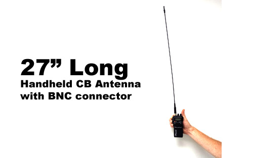 Handheld Cb Radio Antenna 27 Quot Portable Radio Antenna