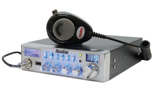 RoadKing RK5640 40 Channel CB Radio with USB Port and RK56NC Mic