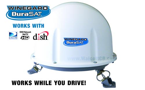 Winegard Durasat RTCM00T In-Motion Automatic Satellite Antenna