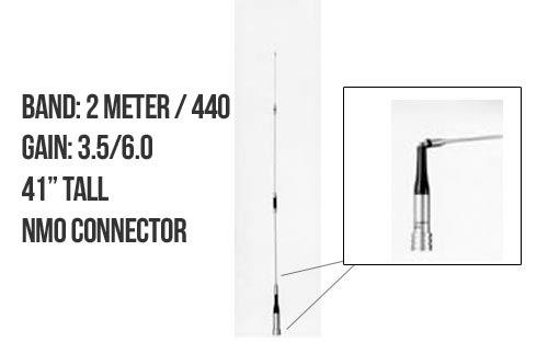 Diamond Antenna SG7500NMO Dualband Mobile Antenna