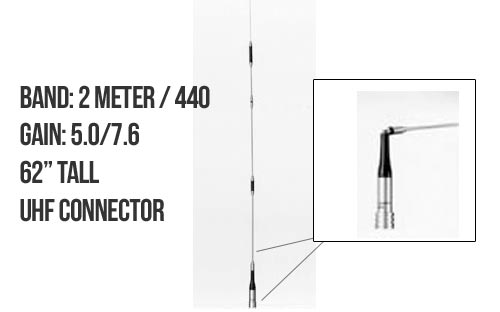 Diamond Antenna SG7900A Dualband Mobile Antenna