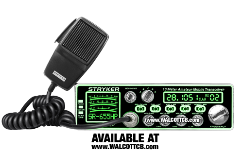 Stryker SR-655-HPC 10 Meter radio with Frequency Counter