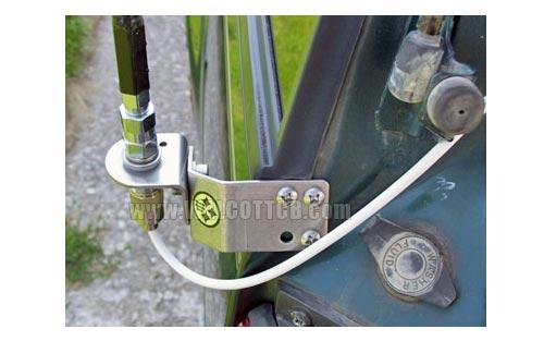 Firestik Ss204a Adjustable Ss Vertical Door Jamb Mount
