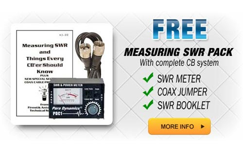 SWRKIT - SWR Meter and Coax Jumper FREE