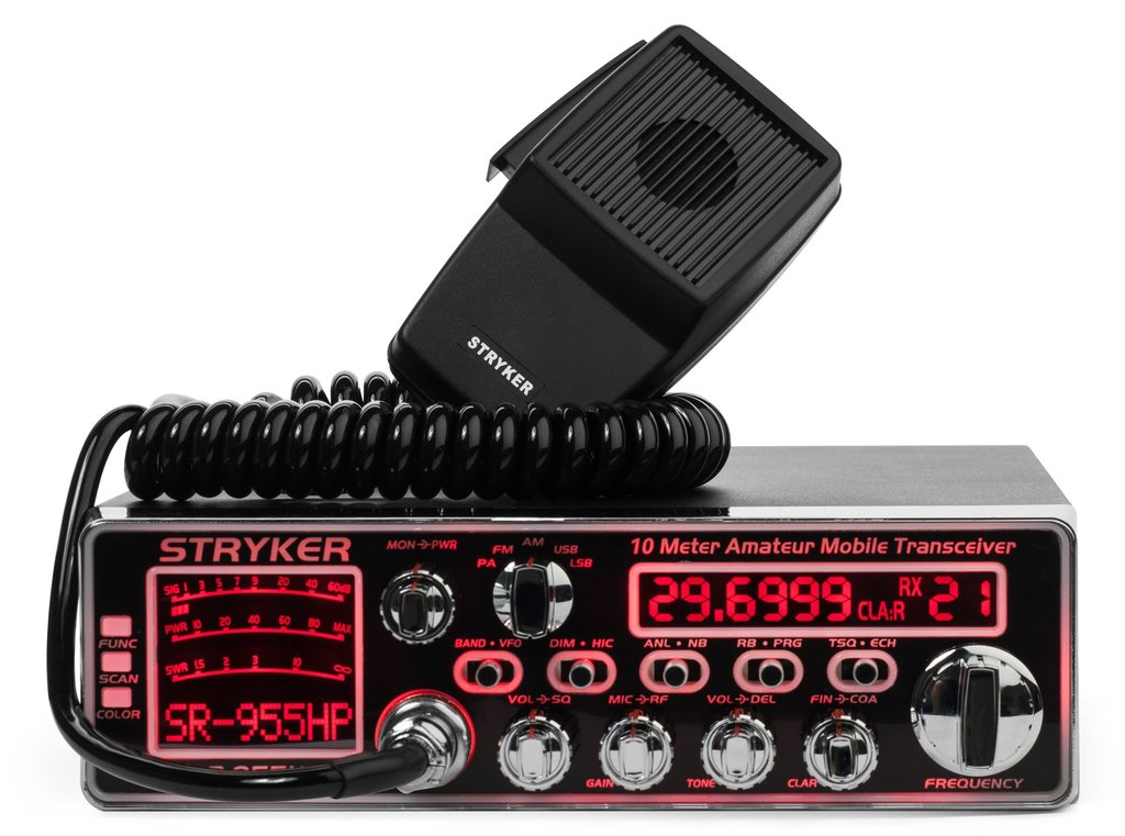 <b>Do You Want A Stryker With <U>ALL</U> The Features? This is it!</b> AM / FM / SSB modes. Fully adjustable echo & talk-back controls.