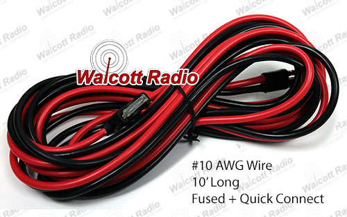 Power Cords For Cb 10 Meter And Ham Radios Walcott Radio