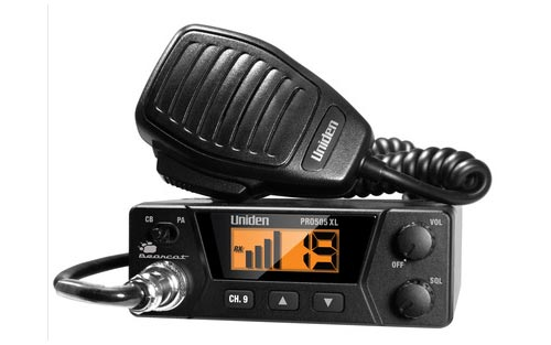 Compact Design Backlit LCD ANL Uniden PRO510XL Pro Series 40-Channel CB Radio
