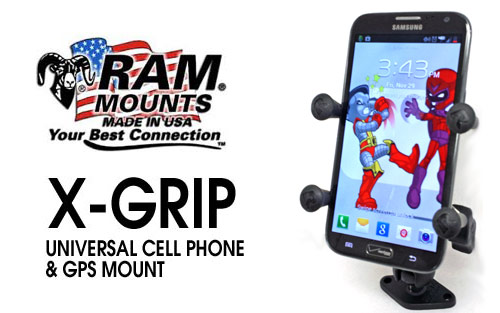 RAM-Mount X-Grip Mount with Diamond Base for Cell Phones, GPS