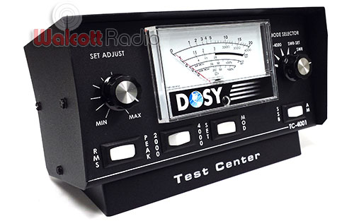 Dosy Tc4001 Benchtop 4000 Watt Power Amp Swr Meter