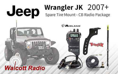 plete Jeep Wrangler Jk Cb Radio Package Spare Tire Antenna Mount P 2878 on toyota radio antenna replacement