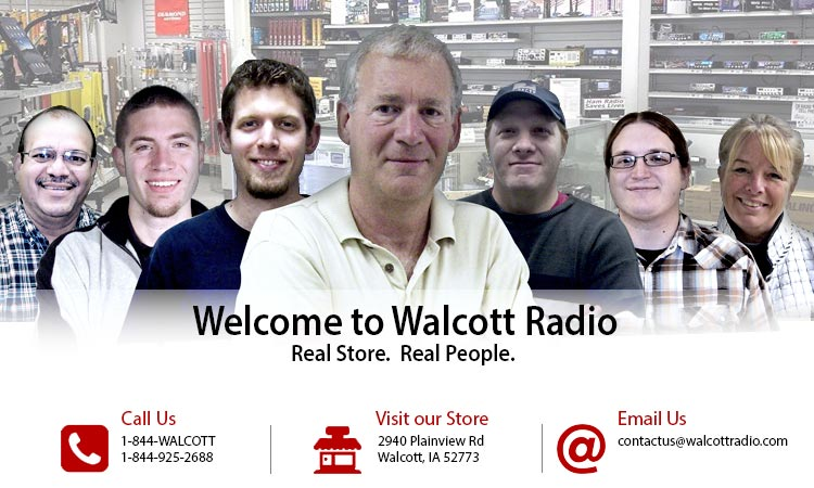 Walcott Radio Employees - Welcome to Walcott Radio!