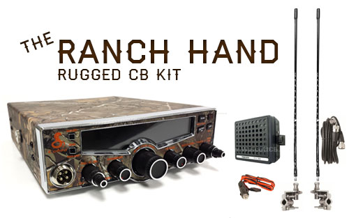THE RANCH HAND - A Complete CB Radio Package For The Farm or Ranch