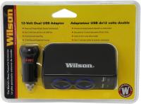 12-Volt Dual 2.4A USB Adapter with 3 Cord - Power up to 4 devices