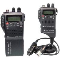 Midland 75822 - Handheld CB Radio with Vehicle Adapter