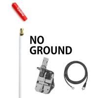 Firestik FG2648W 2 No Ground Plane CB Antenna Kit - WHITE
