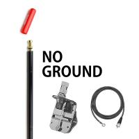 Firestik FG4648B 4 No Ground Plane CB Antenna Kit - BLACK