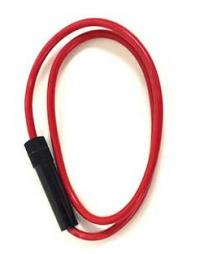 Fuse Holder - #10 AWG Wire for AGC Glass Fuses