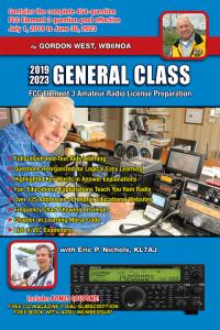 Gordon West General Class Amateur Radio HAM License Book 2019-2023 GWGM-19