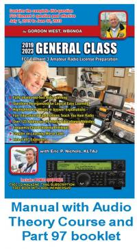 Gordon West General Class Amateur License Book + Audio CDs