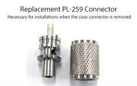Replacement PL259 Coax Connector for RG58 Cable